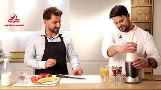 Молочный коктейль с бананом готовит Денис Азимов | Рецепты