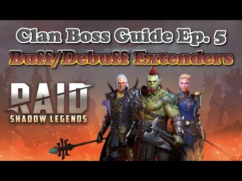 Смотрите сегодня видео новости Raid: Shadow Legends - Clan Boss Guide -  Debuff Extenders на онлайн канале Russia-Video-News Ru