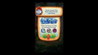 Smurfs Bubble Story Level 21 HD 1080p