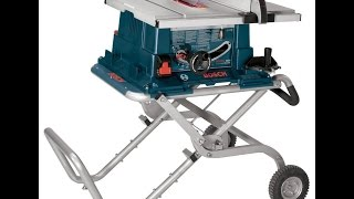 Bosch 4000 09 Table Saw - Best Bosch 10 Inch Worksite Table Saw