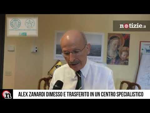 Alex Zanardi dimesso dall'ospedale: ecco come sta e dove è stato trasferito
