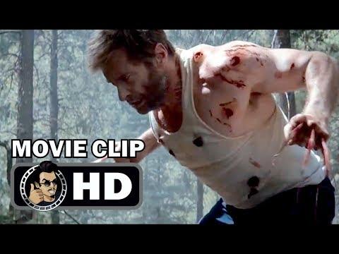 LOGAN Movie Clip - Rage of Wolverine (2017) Hugh Jackman X-Men Superhero Movie HD