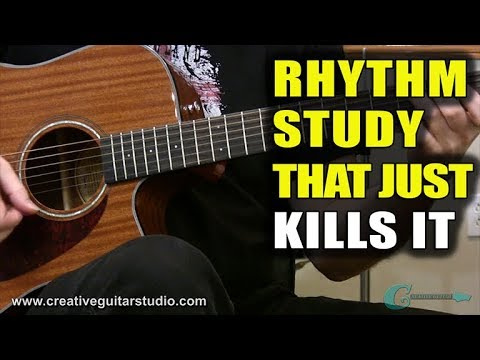 A Rhythm Guitar Study That Just Kills It
