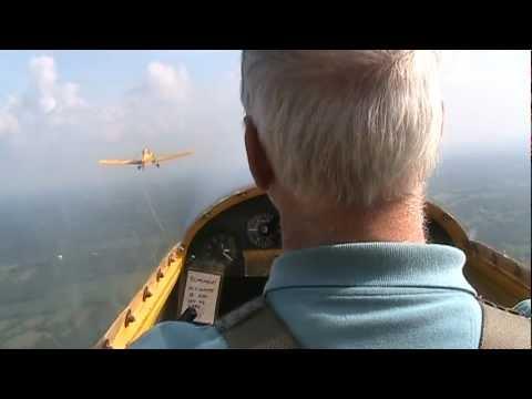 glider sailplane training manuevers demo youtube