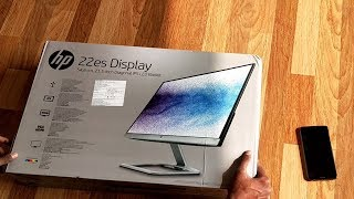 "Best Monitor for 2020 HP - 22ES 21.5"" IPS LED HD Monitor Unboxing and Review"