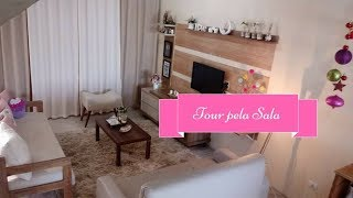 DECORAÇÃO E TOUR PELA SALA | Carla Oliveira