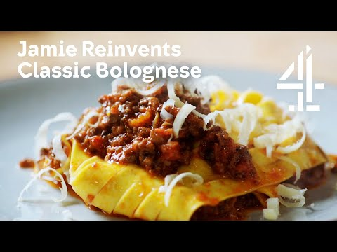 Jamie: Keep Cooking Family Favourites l Jamie Oliver redesigns a classic bolognese