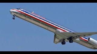 (HD) Takeoffs / Departures Runway 22L @ Chicago O