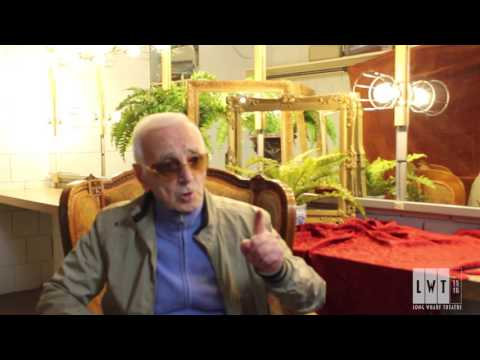 Charles Aznavour on writing