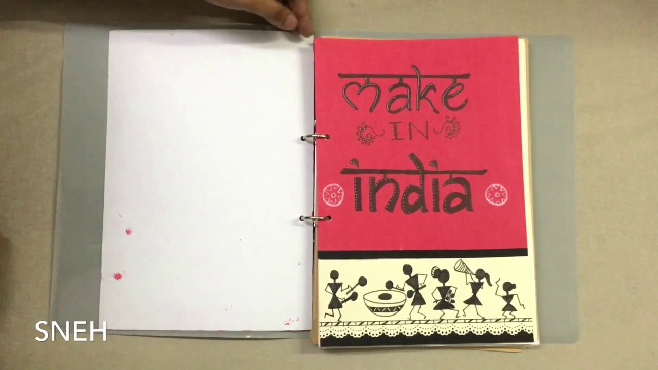 Economics Project - class 12 - CBSE - Topic- Make In India