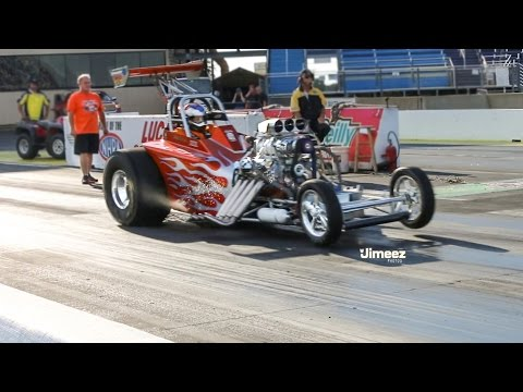 BLOWN INJECTED 7SEC ALTERED!  BUDDY HULL RACING! RT66 JOLIET!