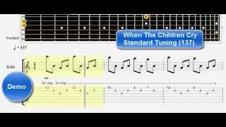 When The Children Cry White Lion Guitar Lesson