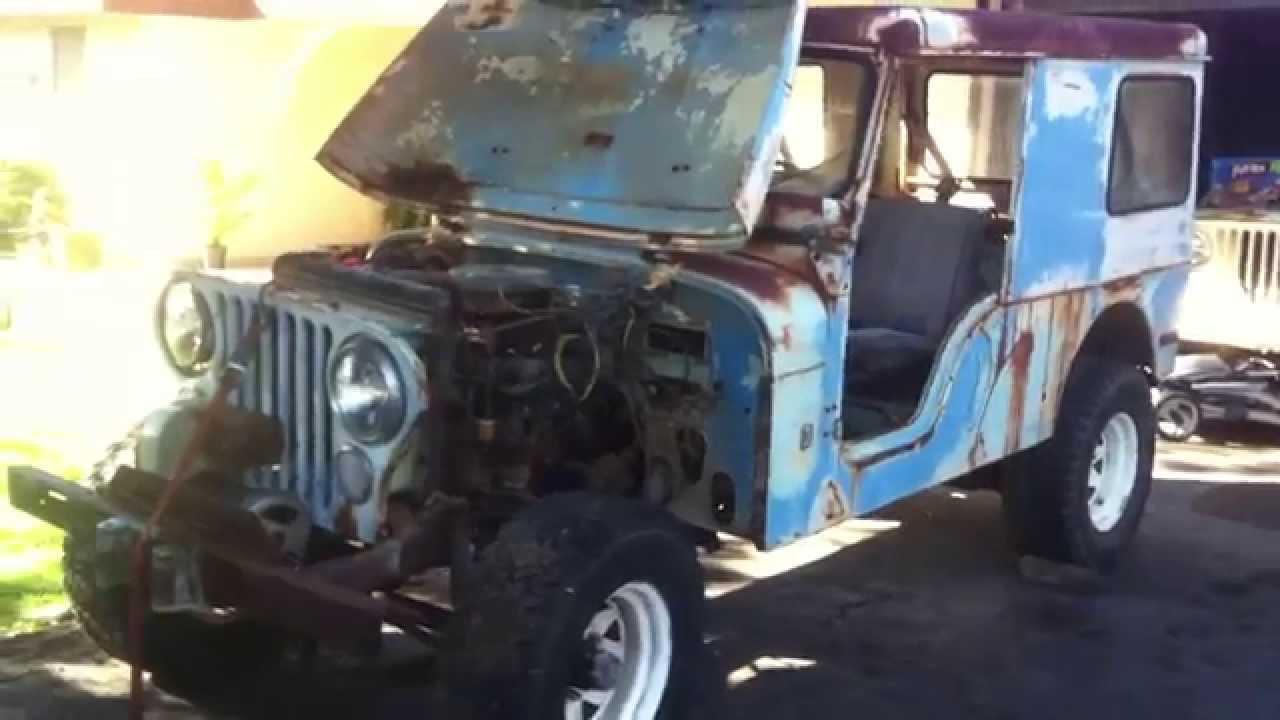 1971 Jeep Cj 6 Project Hot Wire Start And Walkaround Youtube 77 Cj7 Harness