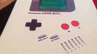 UNboxing Game boy IPad 2 case