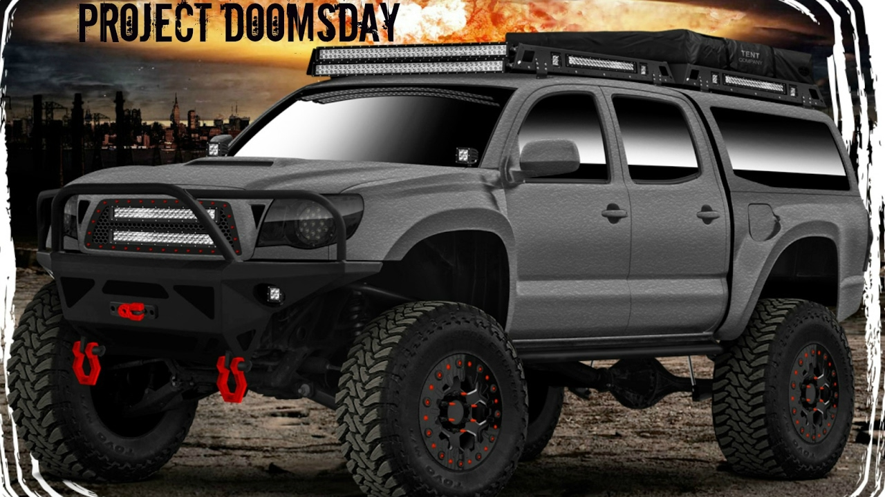 Project Doomsday Gets Raptor Lined U Pol Raptor Bedliner Youtube