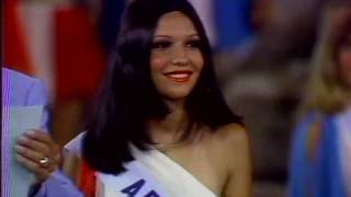 1973 Miss Universe: Semifinalist Announcement