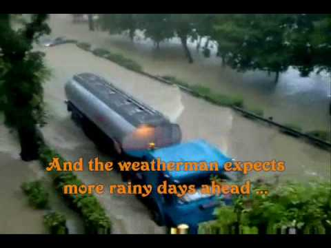 Orchard Road Singapore Flash Floods! Who'll Stop The Rain - CCR Karaoke byCharlie