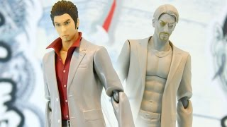 The most badass character to ever get a figma! Kazuma Kiryu from Ry...
