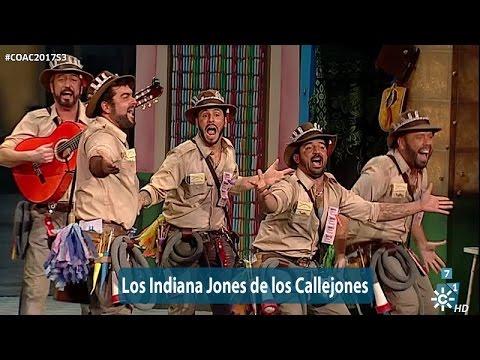Chirigota Los Indiana Jones de los callejones   Actuación Semifinales