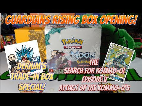 Guardians Rising Box OPENING! (Derium's Bulk Trade-In/ The Search For Kommo-o Ep.II!)