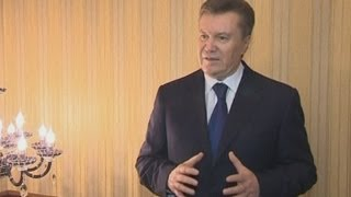 Ukraine protests: Viktor Yanukovych