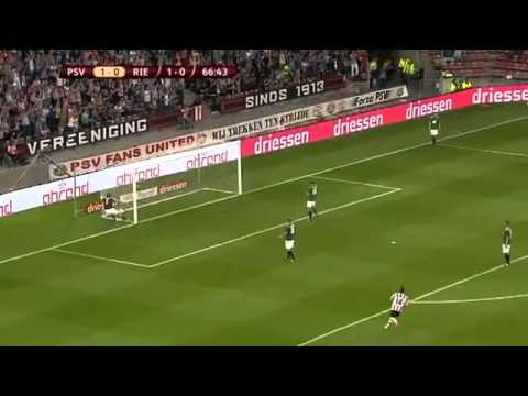Best goal ever! Jermaine Lens! 2011 PSV - Ried Amazing