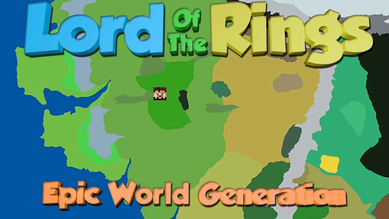 minecraft lord of the rings mod middle earth world generation youtube