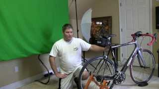 conquer indoor bicycle cycling trainer exercise stand demonstration