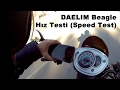 Daelim Beagle H?z Testi (Speed Test / English Subtitles)