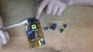 Ремонт блока питания спутниктік ресивердің GS8300N