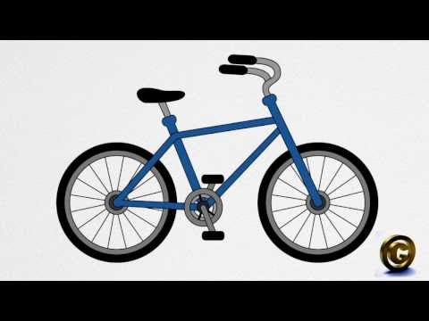 How to draw a BICYCLE step by step thumbnail