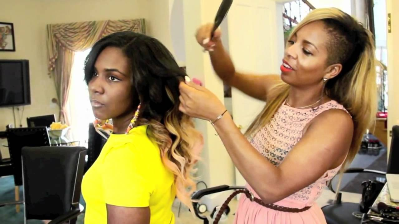 Wright Styles Hair Salon Ari's Hair Chalking 101 With Kiyah Wright  Youtube