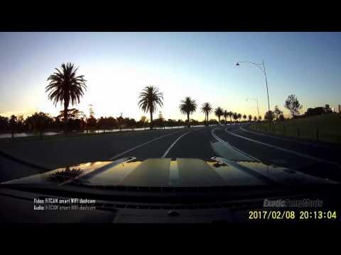 Twilight - Mustang Wifi OEM grade Dashcam - FiTCAM vs GoPro, F1 Grand Prix Albert Park Melbourne