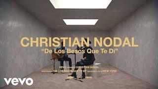 Christian Nodal - De Los Besos Que Te Di Live Performance | Vevo (Live)