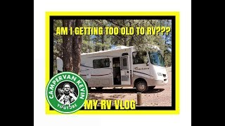 HOW I LEVEL MY CLASS A MOTORHOME. AM I GETTING TOO OLD TO RV???