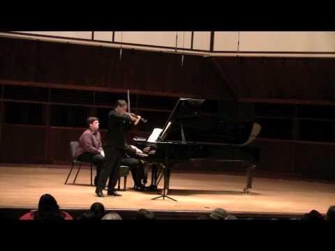 Brahms Adagio Sonata d Minor op. 108 mov 2 (Wolfgang David, violin)