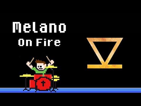 Melano - On Fire (Blind Drum Cover) -- The8BitDrummer