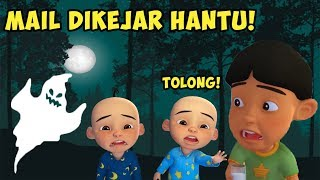 MAIL PURSUED GHOSTS! PUEDE SER TRISTE ? ROBLOX UPIN IPIN ROBLOX CAMPING 1