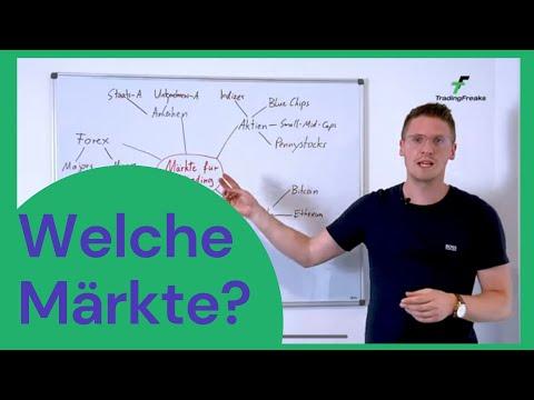 Daytrading: Welche Märkte kannst du handeln? (Übersicht für Einsteiger)