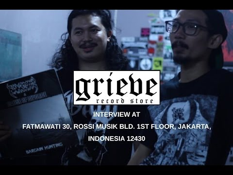 Grieve Records - Jakarta Independent Record Store (Part 1/2)