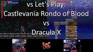 vs Let's Play: Castlevania Rondo of Blood (PSP) vs Dracula X on Super NES