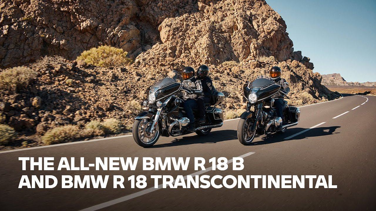 Raw Power – Pure Soul: The all-new BMW R18 B and BMW R 18 Transcontinental