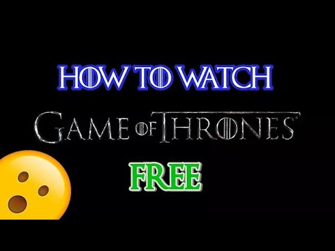 #GameofThrones #Gameofthronesseason8 #GoT  How To Watch Game Of Thrones Online For Free | ALL SEASON