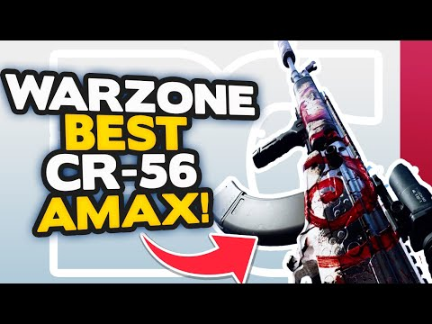 The BEST CR-56 AMAX Class Setup REPLACES the DMR 14 in Warzone as BEST GUN!