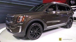 2020 KIA Telluride SX V6 AWD - Exterior and Interior Walkaround - Detroit Auto Show 2019