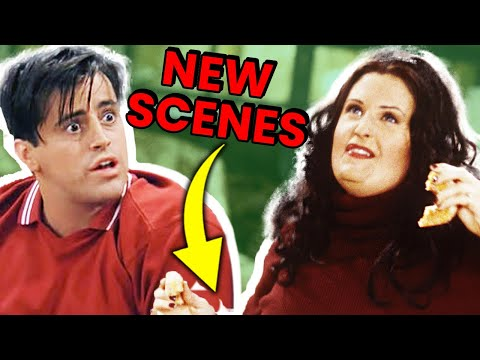 10 Friends Deleted Scenes You Never Got To See |🍿 OSSA Movies