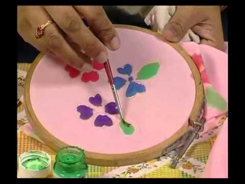 Fabric Painting 1 - Silk Material Frog mp4