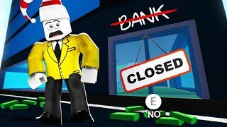 NEW ROBLOX JAILBREAK BANK IS BROKE