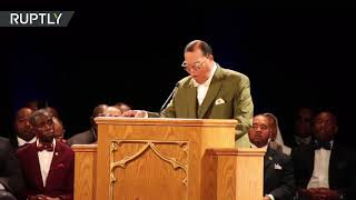 Nation of Islam leader calls for 'black only' state