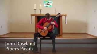 """John Dowland """"Piper´s Pavan""""; Albrecht Bunk - guitar"""